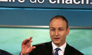 Micheál Martin is aiming to lead his Fianna Fáil party back into government.