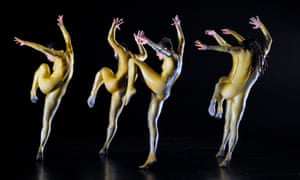 'An attempt to try and make a piece without thinking': Hofesh Shechter's tHE bAD at Sadler's Wells.