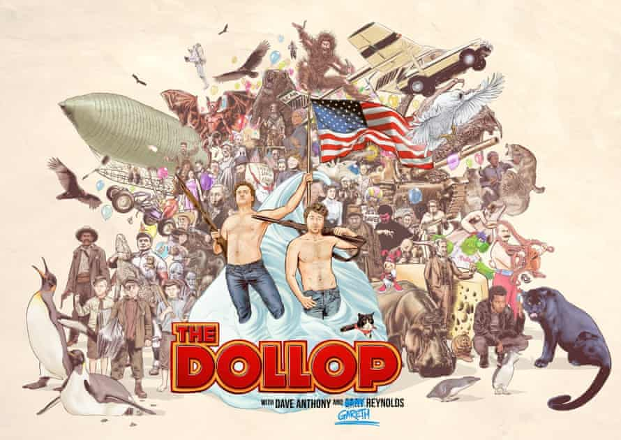 'A maelstrom of ethical issues' ... artwork from The Dollop podcast.