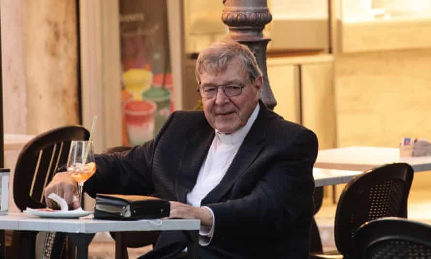 George Pell in Rome