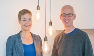 David Pike and Karin Sode, founder of People's Energy