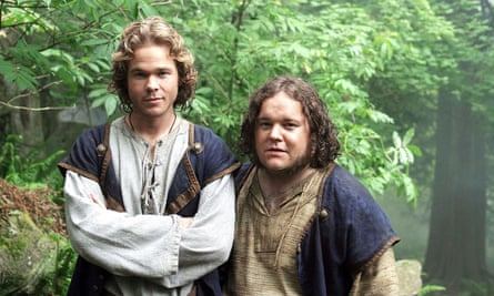 'A far cry from the Earthsea I envisioned.' Shawn Ashmore, left, in The Wizard of Earthsea.