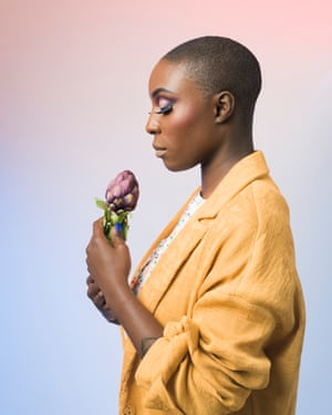 Singer-songwriter Laura Mvula was photographed in London