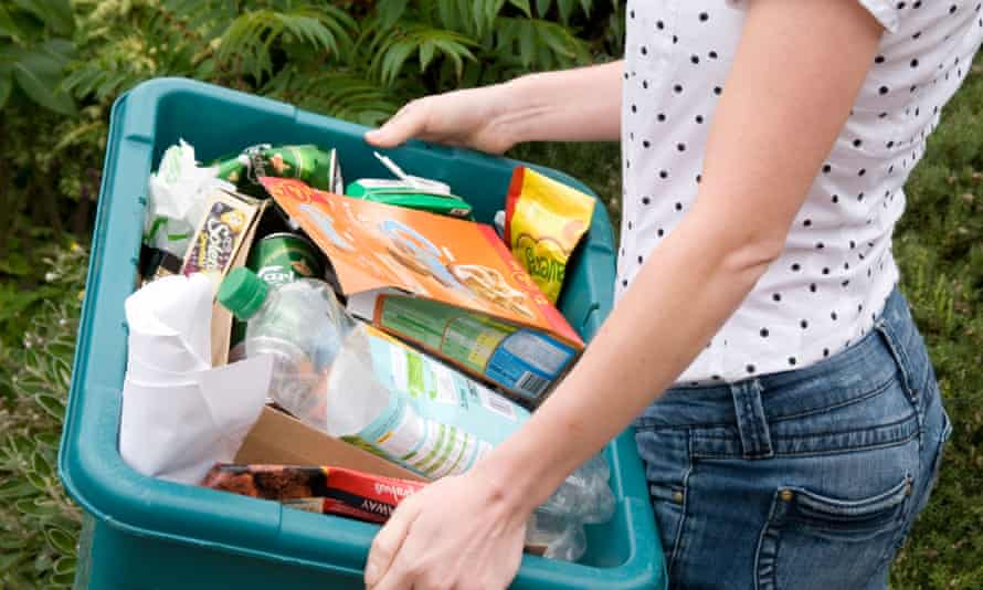 More people are recycling, with rates increasing slightly to just under 45%
