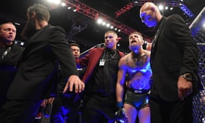 Conor McGregor following defeat to Khabib Nurmagomedov.
