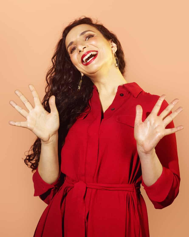 Shall we all do this? Jazz hands by Ella Al-Shamahi.