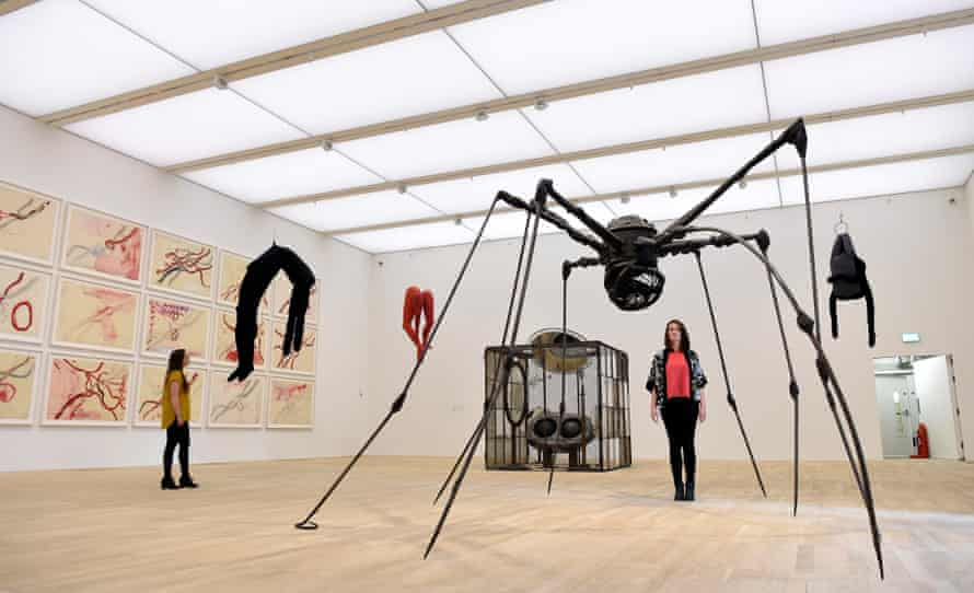 'Surreal, monstrous, macabre' … the work of Louise Bourgeois on display at the Tate Modern.