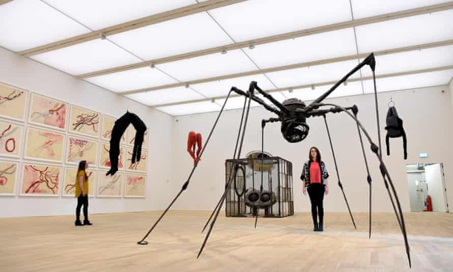 Work by Louise Bourgeois in the Tate Modern Switch House.