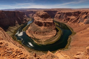 The Horseshoe Bend overlook.