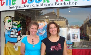 Julie Ward and Vanessa Lewis, owners of the Book Nook in Hove.