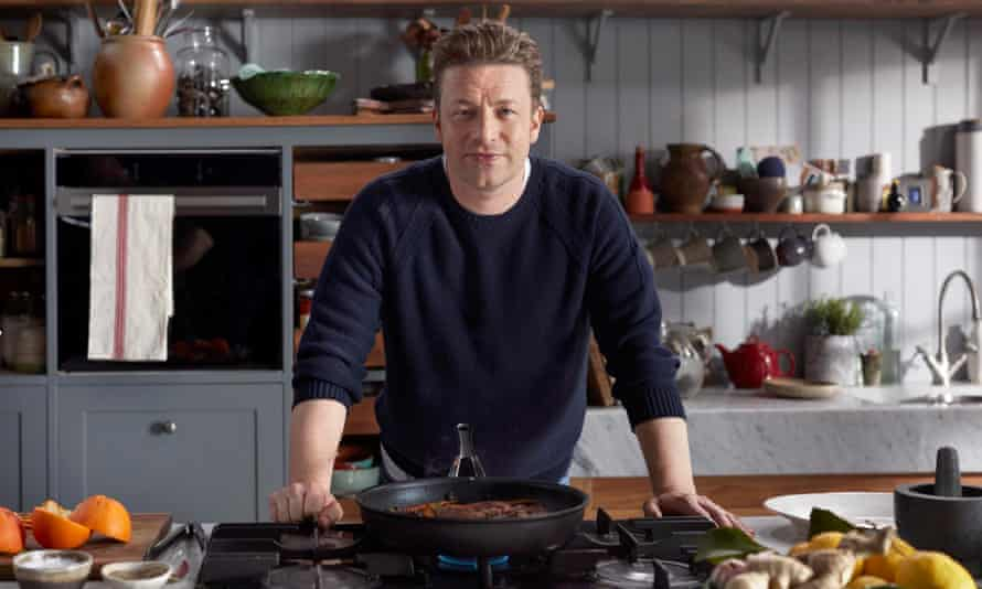 Jamie Oliver, whose jerk rice recipe has come under fire.