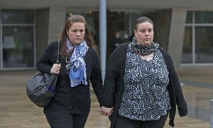 Rachel and Nyomi Fee, who were found guilty of killing two-year-old Liam.
