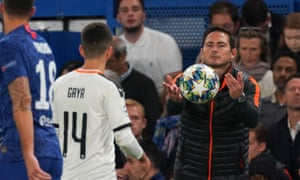 Frank Lampard: 'I think we created enough in the game.'