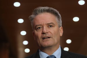 The finance minister, Mathias Cormann, responds to the opposition's budget reply