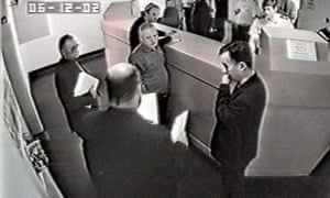 Antoni Imiela at Folkestone police station at the time of his arrest.