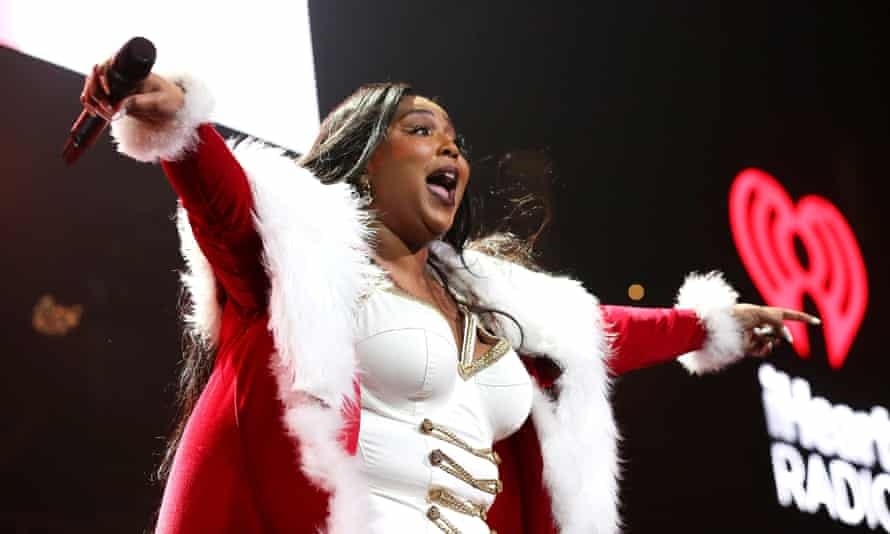 Coconut Oil pressed on coconut-coloured vinyl with a coconut-scented insert, anyone? ... Lizzo performs at the iHeartRadio's Jingle Ball in Dallas on 3 December.