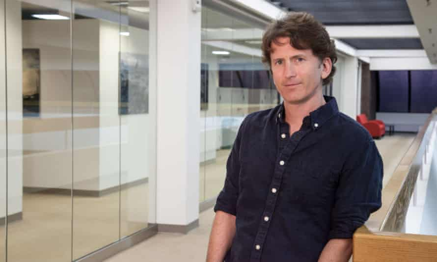 'When you play a game you accomplish something that's real' ... Todd Howard.