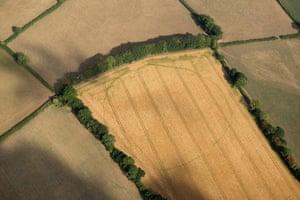 Prehistoric enclosure in Churchstanton, Somerset