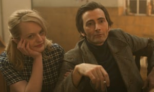 Mental health heroes … Elizabeth Moss and David Tennant in Mad to Be Normal.