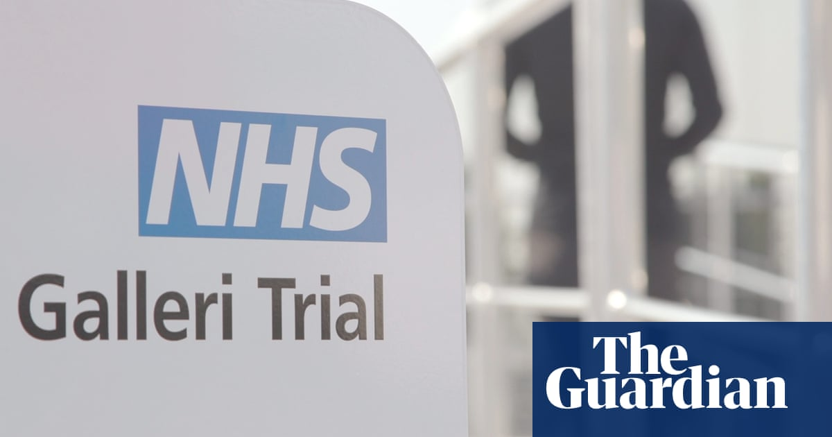 NHS England announces large-scale trial of potential early cancer test