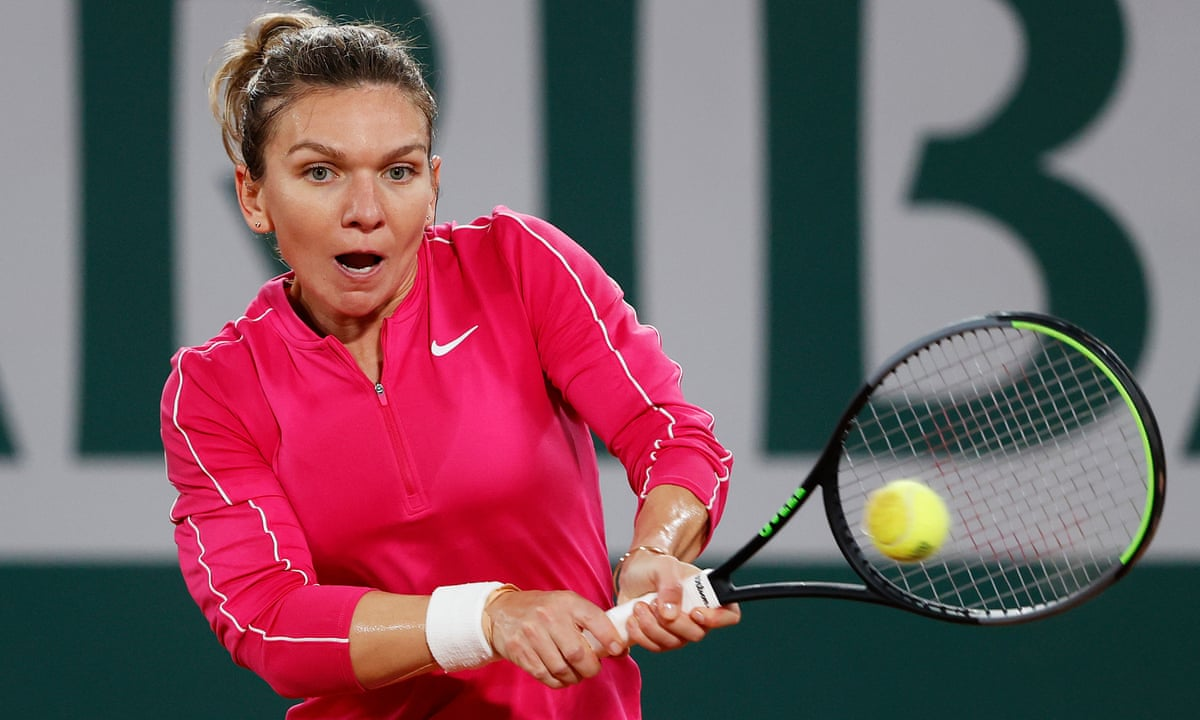 Simona Halep Piles On Pressure To Set Up Fourth Round Meeting With Iga Swiatek Sport The Guardian