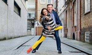 Ed Balls and his Strictly Come Dancing partner, Katya Jones.