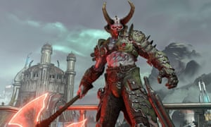 Mengusir setan tanpa rasa bersalah ... Doom Eternal.