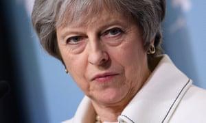 Theresa May at the G7 on 8 June