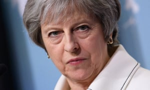 Theresa May at the G7 Summit in Canada