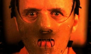 Anthony Hopkins as Hannibal Lecter in The Silence of the Lambs.