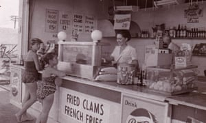 Quimby's grandmother's hot dog stand.