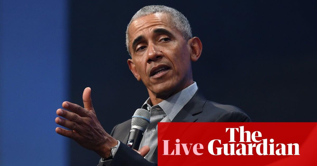 Coronavirus live news: Barack Obama attacks Trump virus response – The Guardian