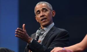 President Obama has criticised Donald Trump's coronavirus response.