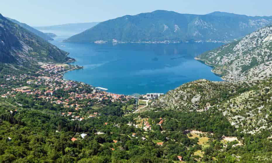 The Bay of Kotor taken behind Kotor town.