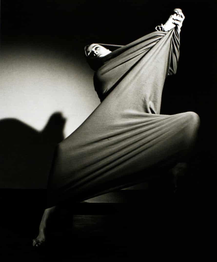 Martha Graham in Lamentation.