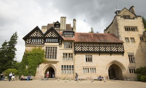 Cragside country hall in Northumberland