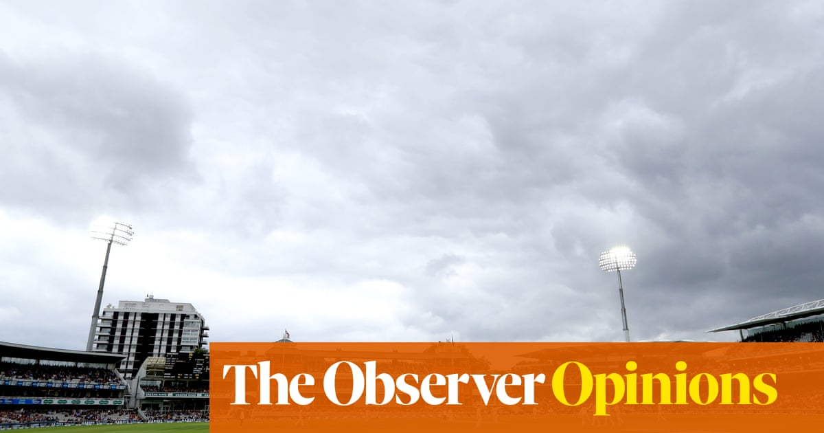 Gloom, drizzle and little cricket but Lord's neighbourly magic still crackles | Tanya Aldred