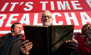 Jeremy Corbyn kicks off Labour's Scotland campaign tour in mid-November 2019.