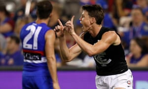 AFL, Blues v Bulldogs