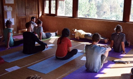 Yoga and walking in the Himalayas with Little French Retreat