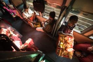 Train vendor, Goa