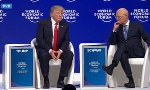 Trump and Schwab