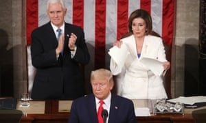 The House Speaker said she couldn't find 'one page with truth on it' in the president's address.