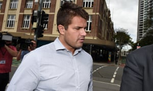 Gable Tostee arrives at the supreme court in Brisbane on Friday.