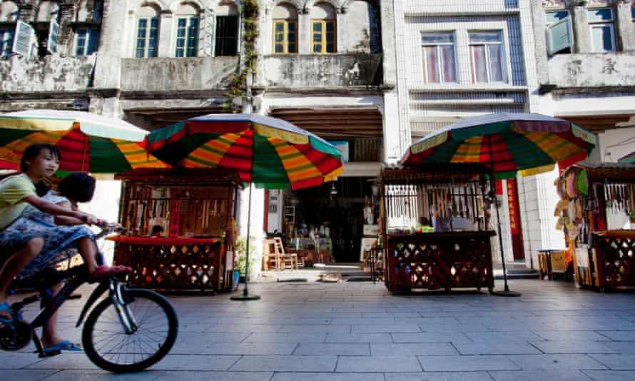 A Beihai street, before the coronavirus lockdown.
