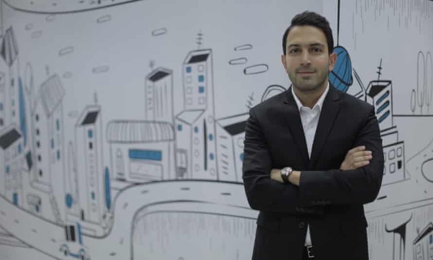 Snapp's founder and CEO, Shahram Shahkar.