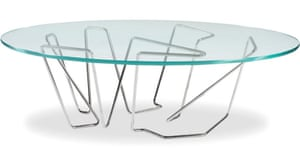 A table design by Brad Pitt and Frank Pollaro