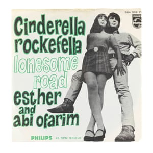 Esther and Abi Ofarim's Cinderella Rockefella, Lonesome Road, 1967 By the end of the 1950s, Jewish folk music had reached the mainstream in Europe and the USA, with Theodore Bikel's albums Israeli Folk Songs and Theodore Bikel Sings Jewish Folk Songs. In the 60s, Israeli, Yiddish, Sephardic and Arabic-Jewish folk music was distributed on world music labels