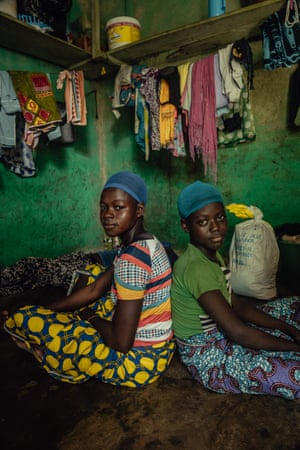 Kayayei Sisters, Accra, Ghana by Natalija Gormalova