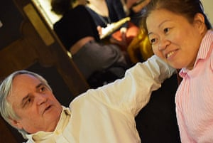 Paul and Myra Elgee. 'It takes several years to build up a team of people you can trust', says Paul